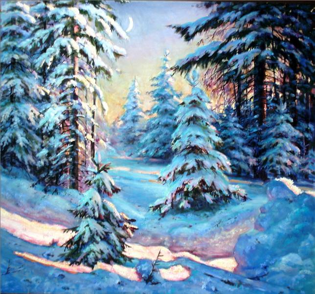 Чайковский зимние грезы картинка